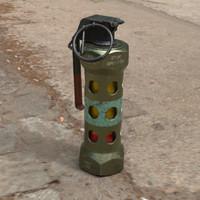 3D m84 stun grenade