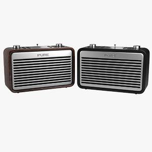 3D radio pure verona model