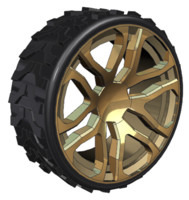 hummer alloy wheel 3D model