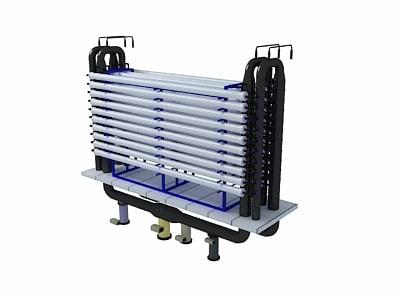 3D purification model