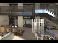 split level 3D