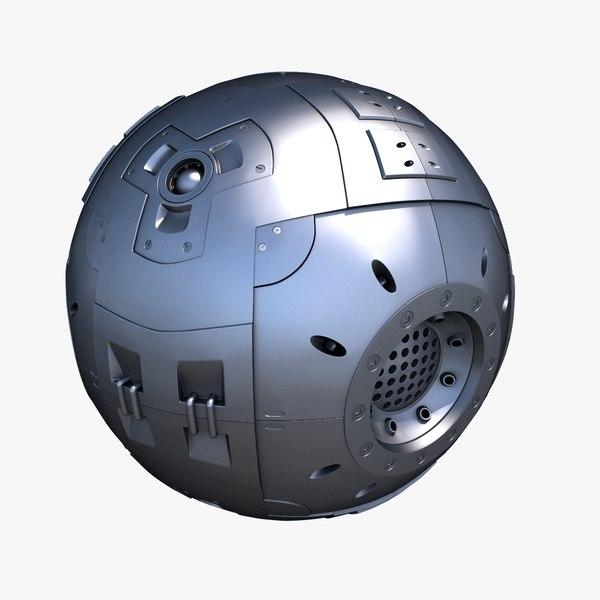 sci-fi core 3D