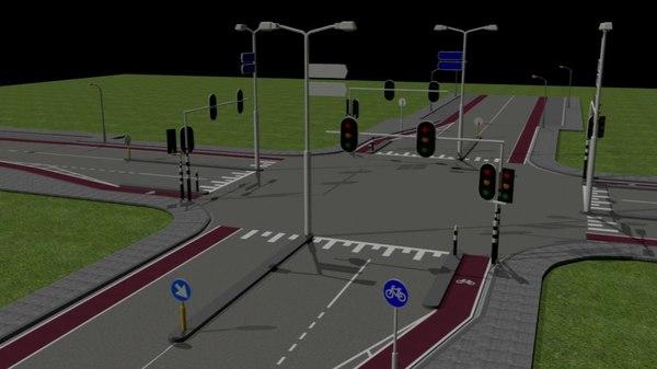 traffic stuff 3D model