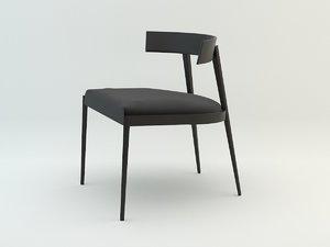 3D model lizzie chair