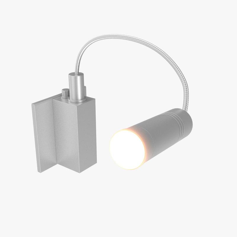 3D adjustable book light