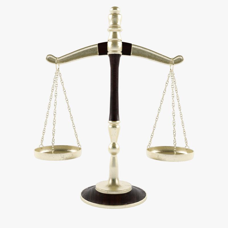 3D legal scales