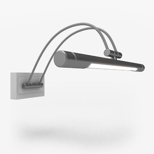3D model picture light