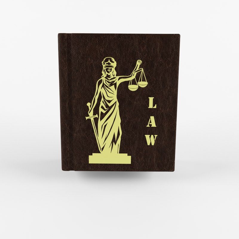 3D law book