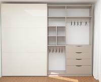3D modern wardrobe