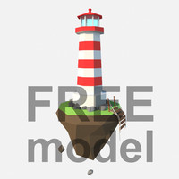 3D lighthouse corona model