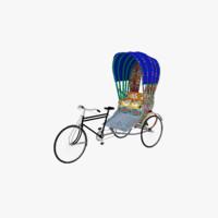 rickshaw model
