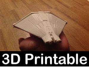 printable narcissus escape alien 3D model