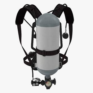 firefighter oxygen equipment model