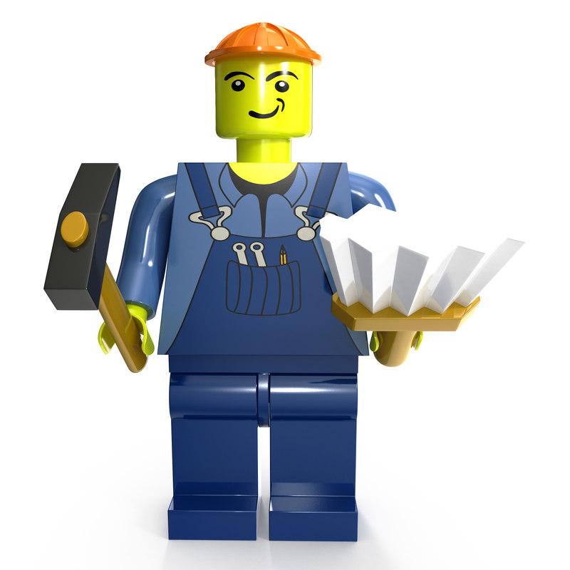 3D man male guy