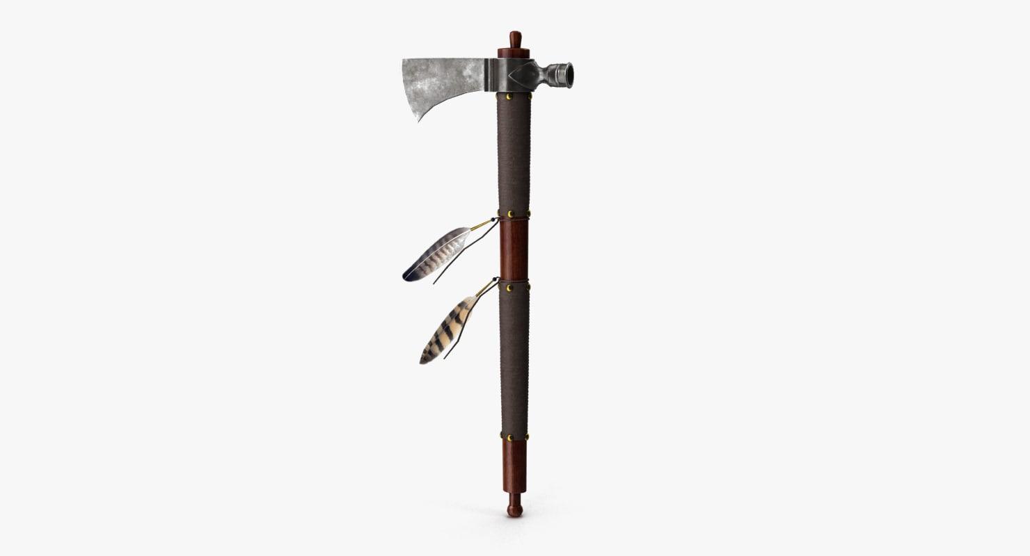 pipe tomahawk 3D model