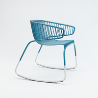 3D whale chair maxence couthier model