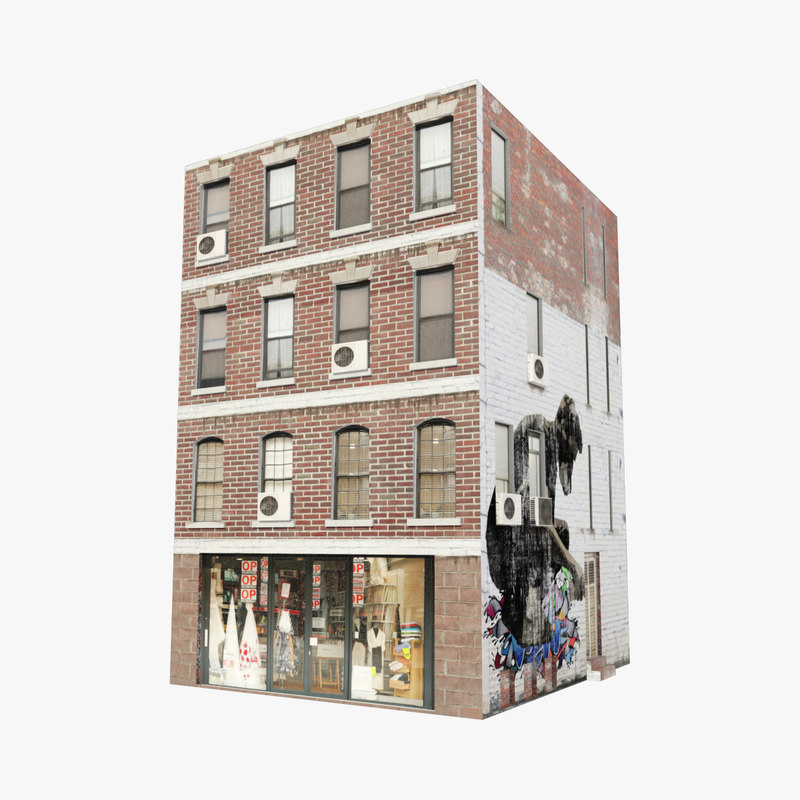 new york building 3D model