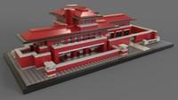 3D lego robie house