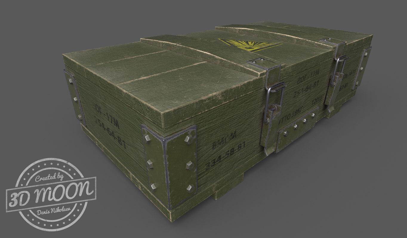 3D box ammunition