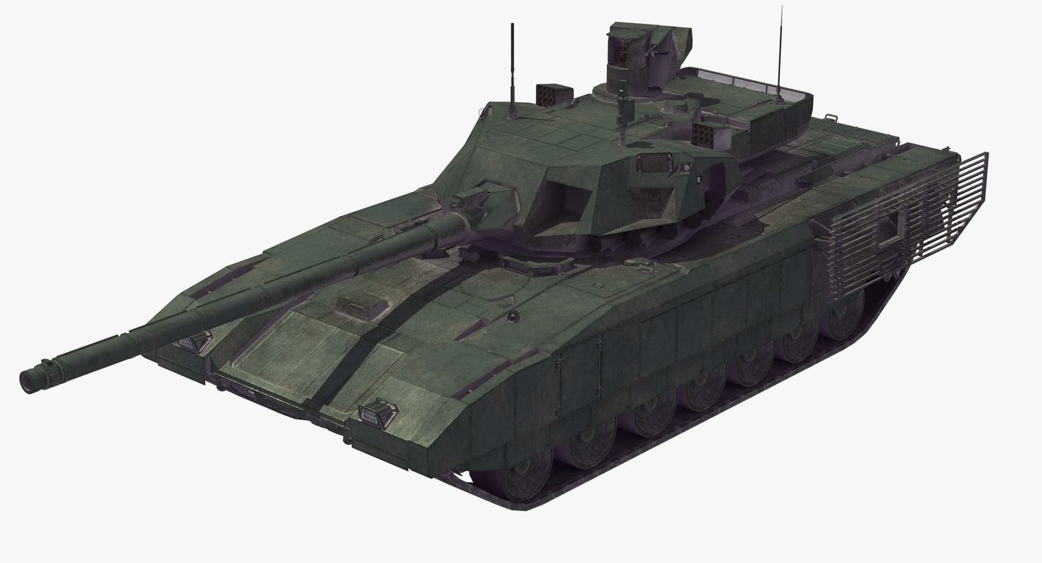 3D t-14 armata battle tank