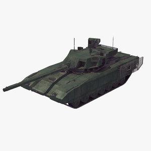 3D t-14 armata battle tank