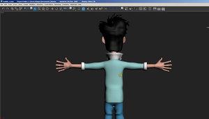 punk kid 3D