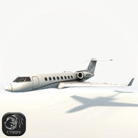 3D gulfstream ready games model