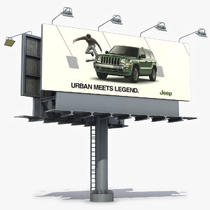 billboard board 3D