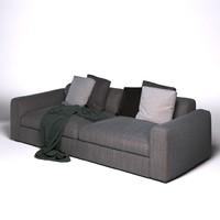 3D poliform dune sofa