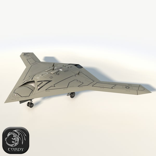 northrop grumman x-47b 3D