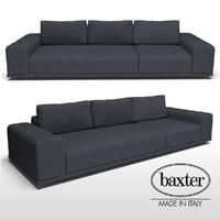 3D baxter monsieur sofa model