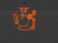 3D cube figute