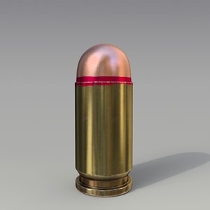 9x18mm cartridge 3D model