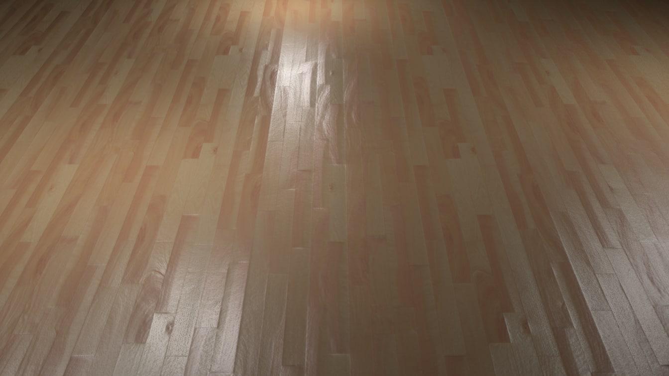 3D wood floor