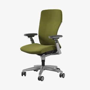3D allsteel acuity chair mesh