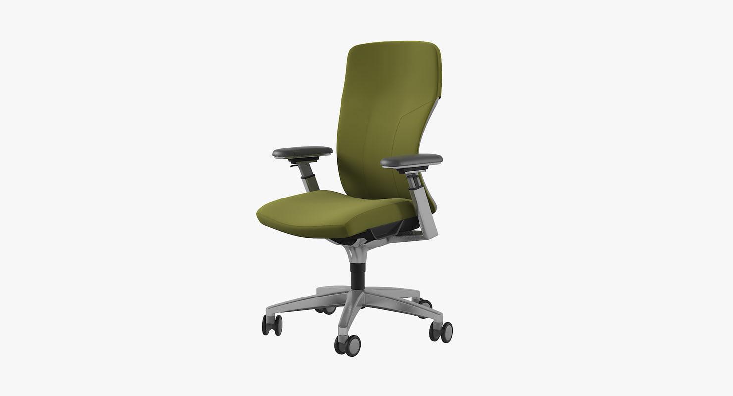 3d Allsteel Acuity Chair Mesh Turbosquid 1153295