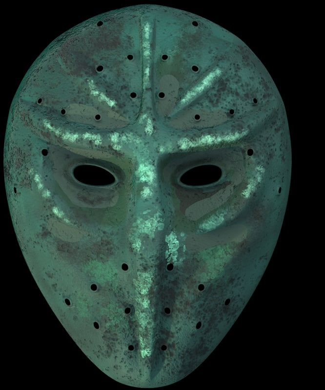 3D mask ninja