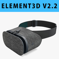 E3D - Google DayDream VR Headset Black