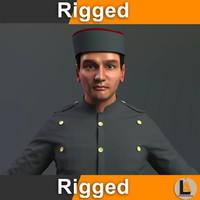 bellboy man rig model