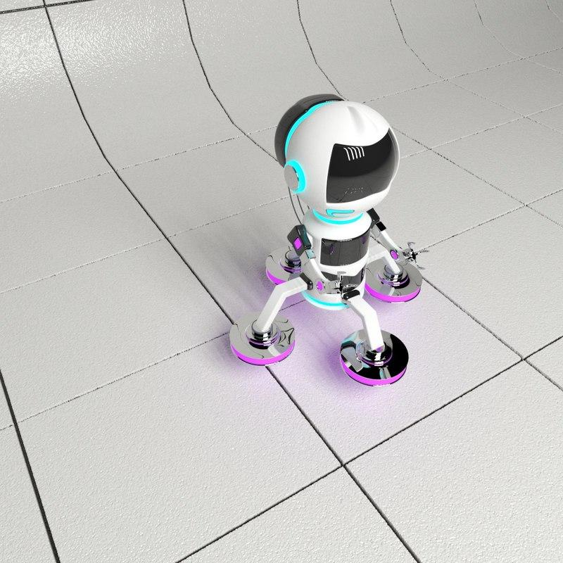 3D flying robot model