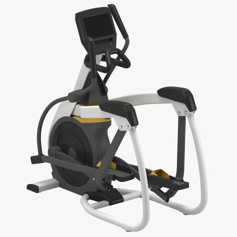 gym step machine 3D model