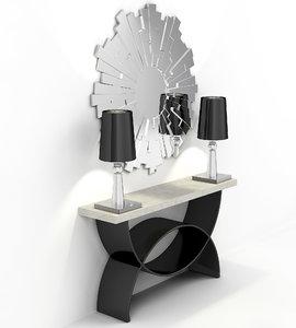 3D modern curbstone model