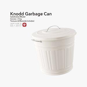 3D model knodd garbage