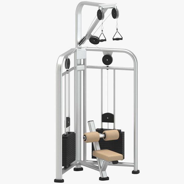 3D gym pull model