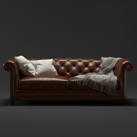 3D chesterfield 2 5 seater