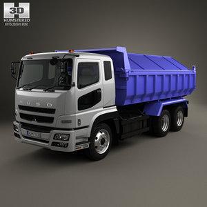 3D mitsubishi fuso super model