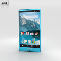 sharp sh-01g aquos 3D model