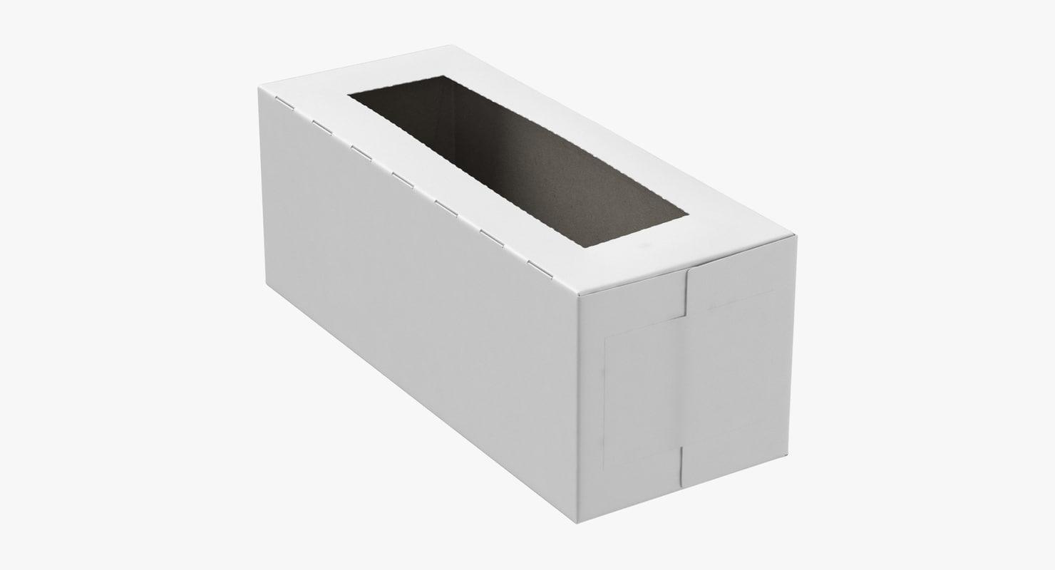 ziplock box 3D model
