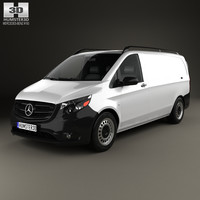 mercedes-benz metris panel 3D