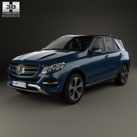 3D mercedes-benz gle-class gle model